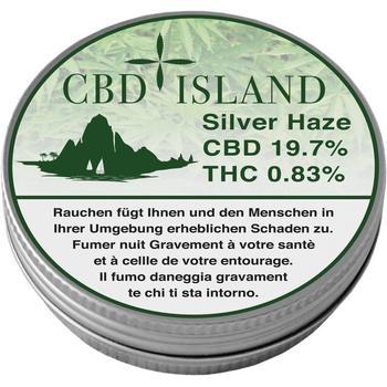 CBD Hemp Silver Haze Blüte