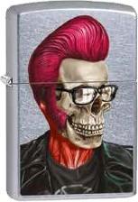 Zippo Rochabilly Skull Profile 60002467