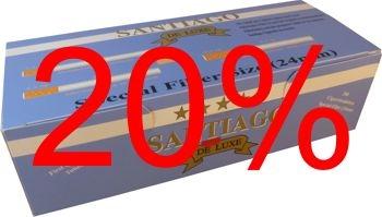Doppel-Filterhülsen Santiago, 50 x 200 Stk. Aktion