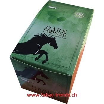 Dark Horse Menthol Regular Filter Box