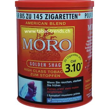 Moro Golden Shag Tabak Dose
