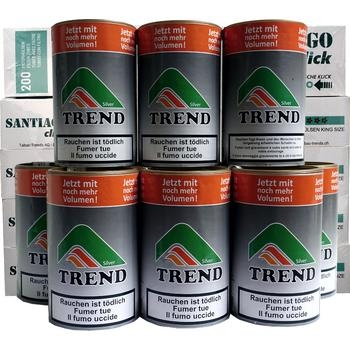 Tabak Trend Silver & Santiago Click Filterhülsen