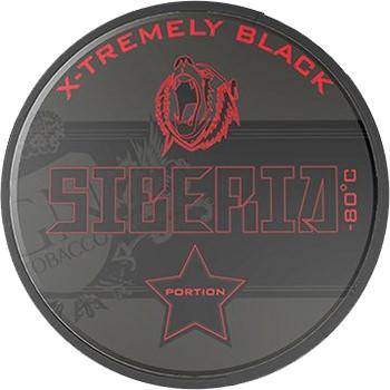 Siberia -80 Xtremely Black Portion Snus