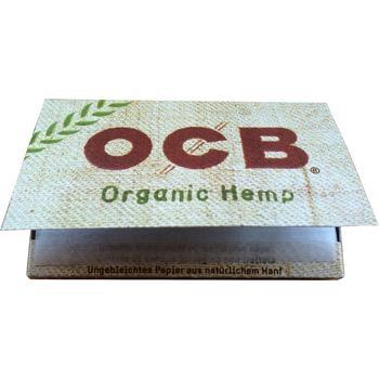 OCB Double Organic Hemp 10 Briefchen