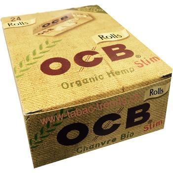 OCB Rolls Organic Hemp Slim