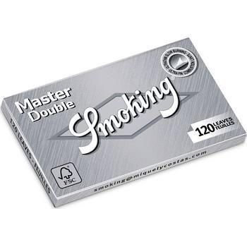 Smoking Double Window Master Silver - 10 Briefchen