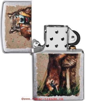 Zippo 60004850 Wolf And Pup