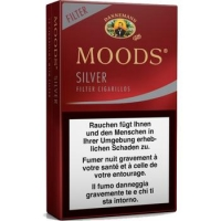 Moods Silver - 10 x 12 Cigarillos