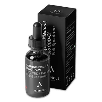 Alpinols CBD Öl - Full Spectrum