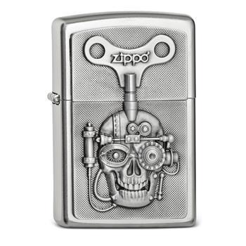 Zippo Pl Mechanically Skull 2005136