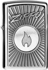 Zippo with Flame 2004092
