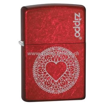 Zippo Red Heart
