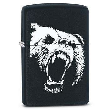 Zippo Black and white Bear 60002611