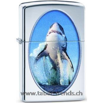 Zippo 60004080 Shark Breaching Design