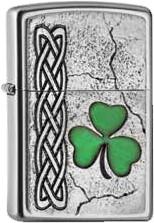 Zippo Pl Irish Shamock Emblem 2005097