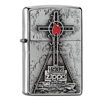 Zippo Cross and Flame