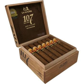 La Aurora 107 Nicaragua Gran Toro - 20 Zigarren