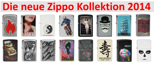 ZippoKollektion2014
