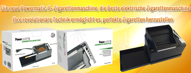 Powermatic 2+ Zigarettenmaschine