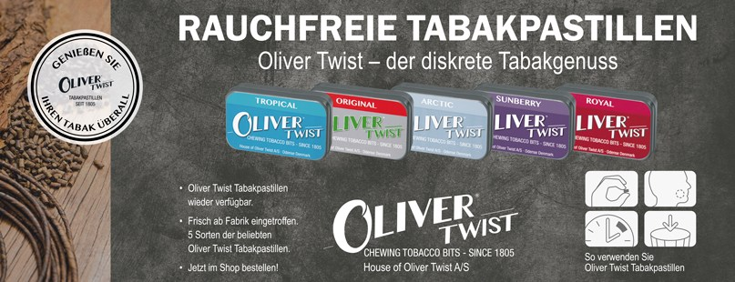 Oliver Twist tabac a mancher