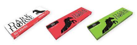 Zigarettenpapier Briefchen Darkhorse