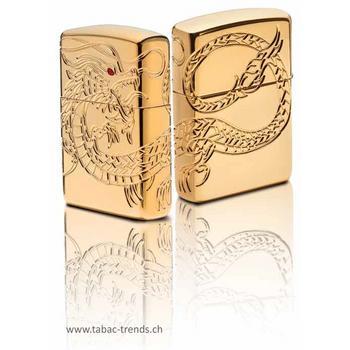 Zippo Multicut Dragon Gold