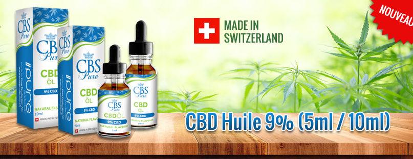 CBD Huile 9% (5ml / 10ml)