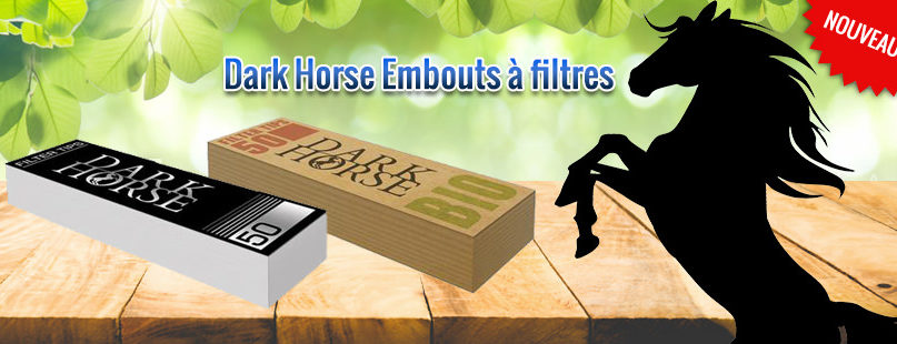 Dark Horse Embouts à filtres