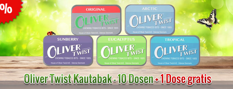 Oliver Twist Kautabak Aktion