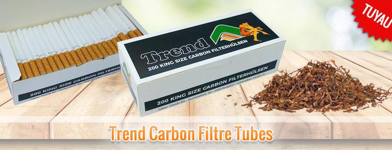 Trend Carbon Filtre Tubes