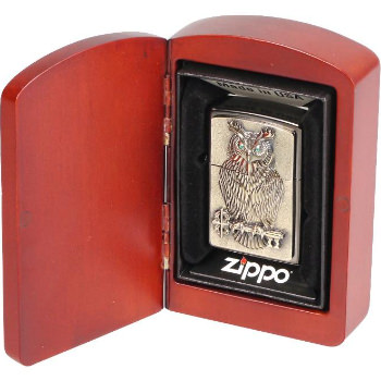 Zippo Emblem Owl of Wisdom