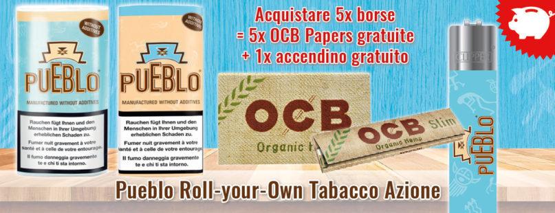 Pueblo Roll-your-Own Tabacco Azione