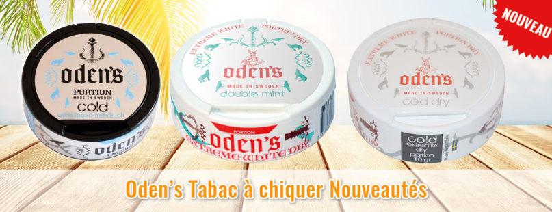 Oden's Tabac à chiquer Nouveautés