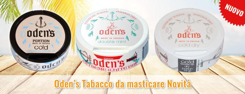 Oden's Tabacco da masticare Novità