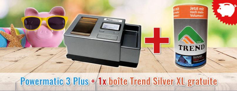 Powermatic 3 Plus + 1x boîte Trend Silver XL gratuite