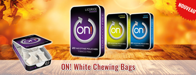 ON! White Chewing Bags