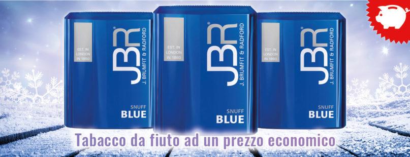 JBR Blue Tabacco da fiuto