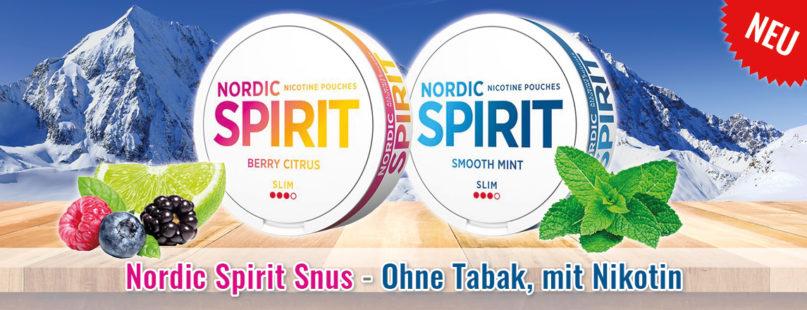 Nordic Spirit Snus - Ohne Tabak, mit Nikotin