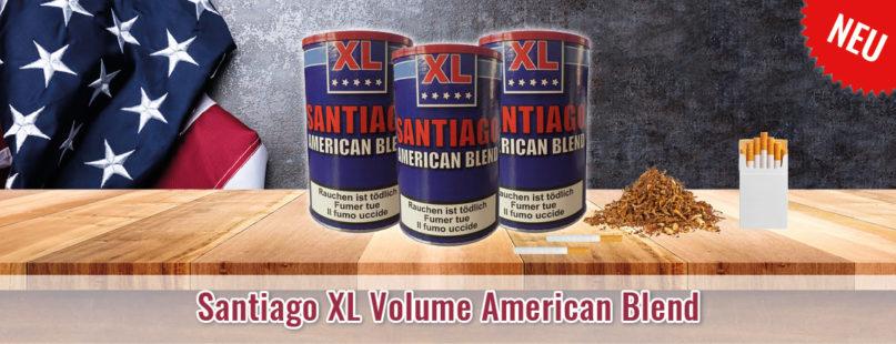 Santiago XL Volume American Blend