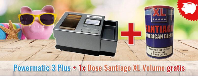 Powermatic 3 Plus + 1x Dose Santiago XL Volume gratis