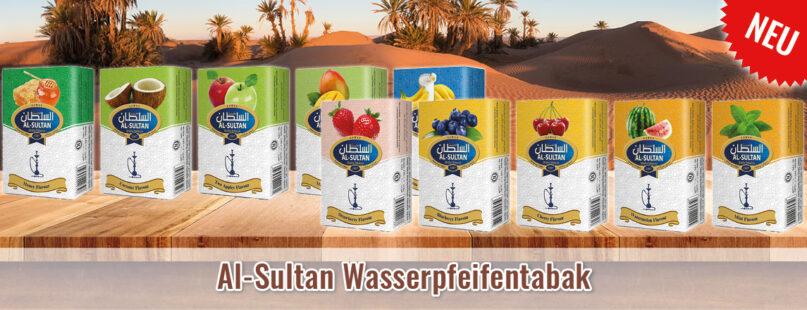 Al-Sultan Wasserpfeifentabak