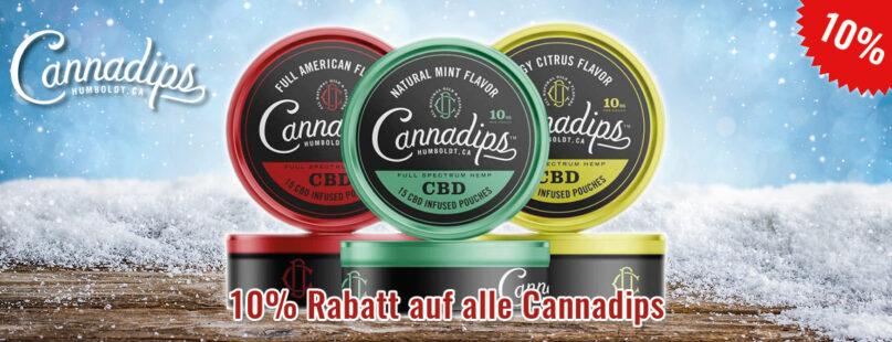 10% Rabatt auf alle Cannadips