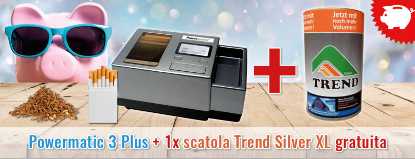 Powermatic 3 Plus + 1x scatola Trend Silver XL gratuita