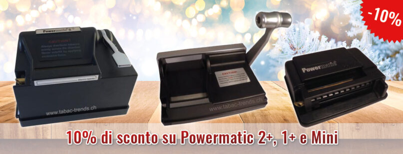 10% di sconto su Powermatic 2+, 1+ e Mini