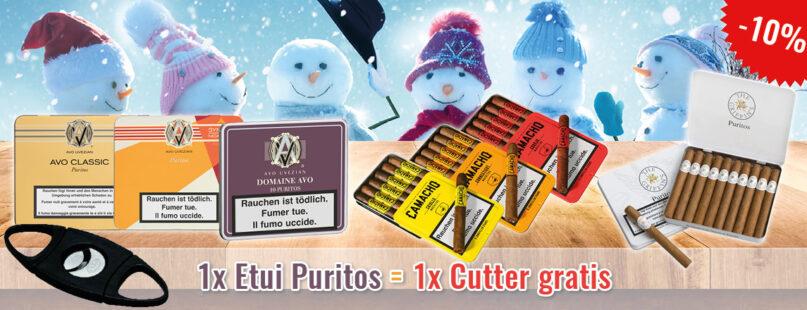 1x Etui Puritos = 1x Cutter gratis