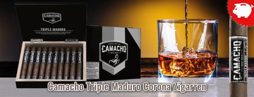 Camacho Triple Maduro Corona Zigarren