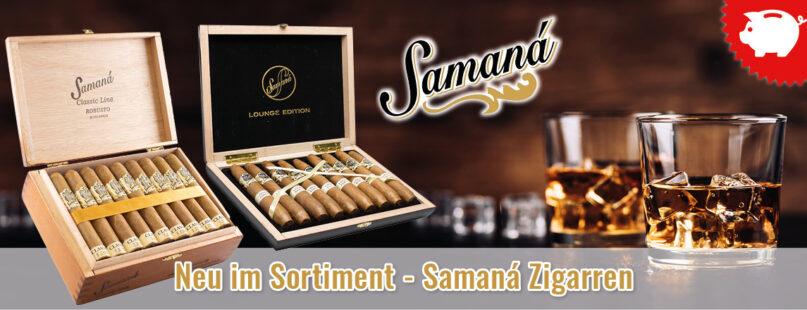 Neu im Sortiment - Samaná Zigarren