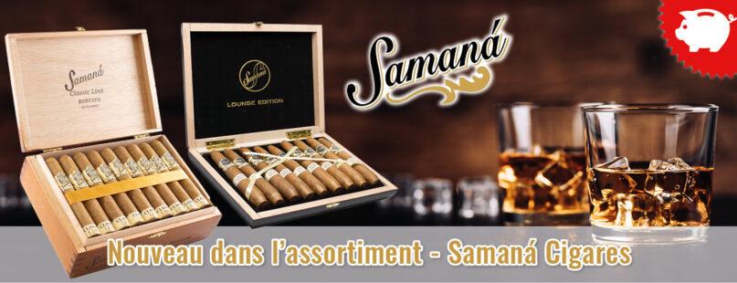 Nouveau dans l'assortiment - Samaná Cigares