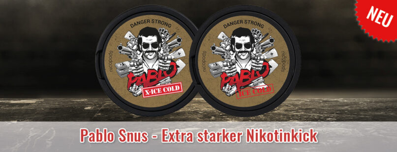 Pablo Snus - Extra starker Nikotinkick